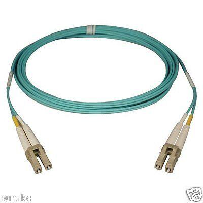 7m LC-LC Duplex 50//125 Multimode 10 Gb Fiber Patch Cable Aqua om3-9213