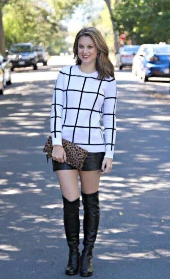 Blondo Eden estiramiento estiramiento estiramiento cuero impermeable sobre la rodilla botas de Montar Talla 6 M  ventas en linea