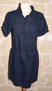 Diplodocus Lintiquet Marque Neuve Taille Robe Marine En 36 Bleu wq6IHf