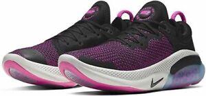 Nike Joyride Run FK Flyknit Shoes Black Pink Blast White AQ2730-003 Men's NEW