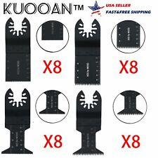 32 Saw Blades Oscillating Multitool Fein Bosch Dewalt Porter Cable Dremel Ridgid