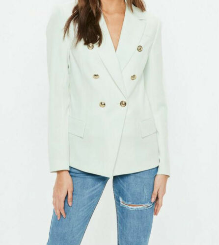 M74//21 Missguided Military Suit Blazer Ladies Outwear