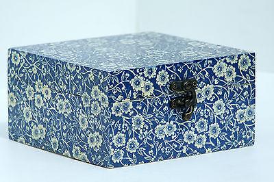 Small Mini Book Trinket Wooden Storage Box Decoupage Plain KFR Small