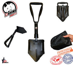 D-Rhino-Folding-Shovel-24-034-Camping-Garden-Military-Style-Survival-with-Case