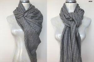 Womens-100-Alpaca-Pashmina-Shawl-Scarf-Wrap-Cashmere-Silk-Wool-Stole-Handwoven