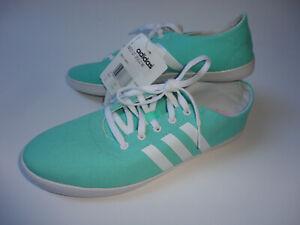 Details zu adidas Schuhe Sneaker Turnschuhe Freizeit Gr.5 12 Gr.38 38,5 mintweiß Neu
