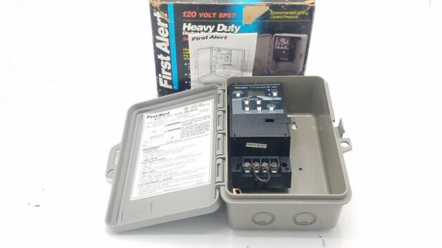 First Alert TS110WH Heavy Duty Digital Time Switch 24hr. Lighting Control