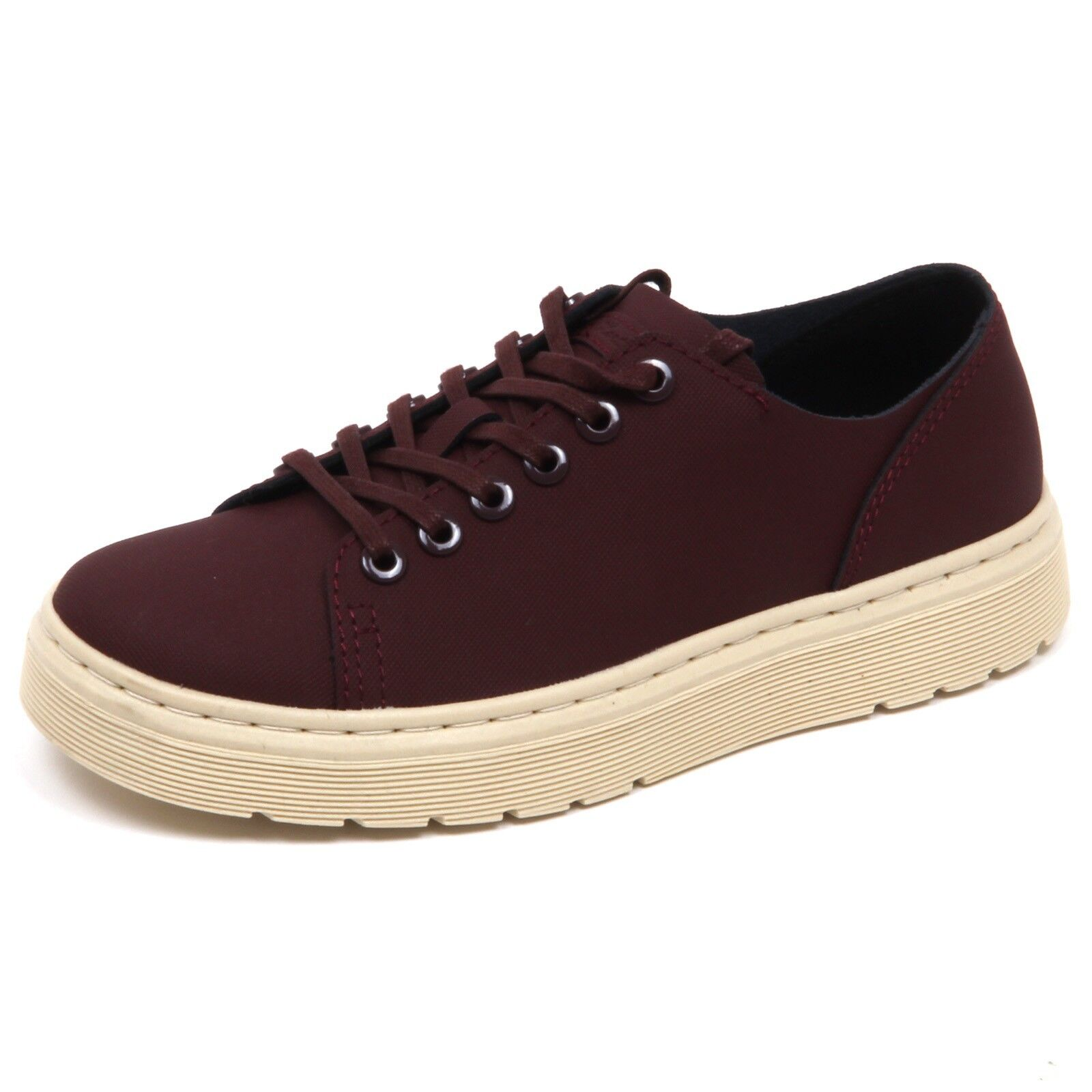 D6632 (SAMPLE NOT FOR RESALE WITHOUT BOX) sneaker donna DR. MARTENS tissue shoe