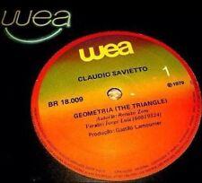 RENATO ZERO - GEOMETRIA (Triangolo) - PROMO BRASILE - 1979 - PEZZO UNICO !!!