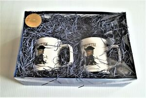 "BRAND NEW Original RUSH LIMBAUGH ""TWO IF BY TEA"" 2 MUG SET, Only 10 Sets Left !!"