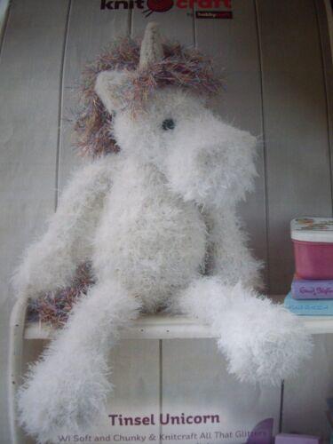 Tinsel Unicorn  crochet  pattern