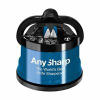 Anysharp Knife Sharpener Blue Free Shipping