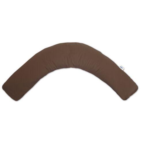 Theraline Bezug für das Komfort Stillkissen 180 cm Jersey dunkelbraun NEU