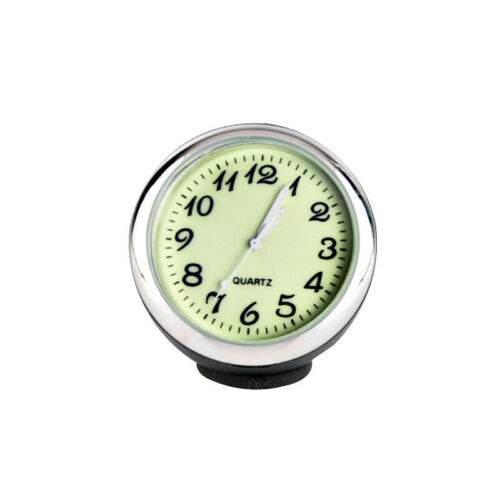 Car Dashboard Clock Thermometer and Hygrometer Car  Decoration Ornament.