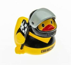Shelby Rubber Ducky - Black Helmet * Great Stocking Stuffer! Free USA Shipping!