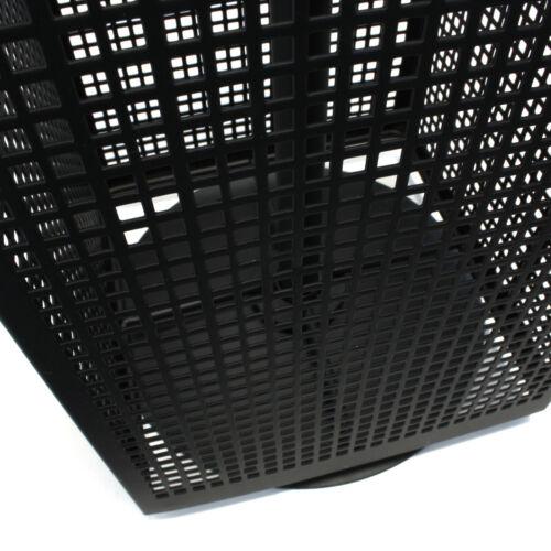 Lochwand Tisch Metall Lochblechständer inkl 24 Haken Drehbar 63 x 19 cm Schwarz