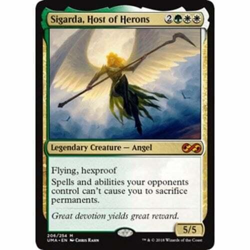 MTG ULTIMATE MASTERS  Sigarda, Host of Herons (foil) (foil) (foil) dc6925