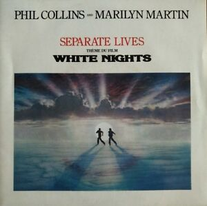 Phil-Collins-Separate-Lives-White-Nights-BO-Vinyl-7-034-45T-Single