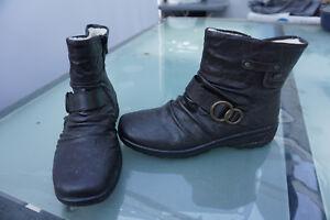 5778de41723763 Das Bild wird geladen RIEKER-Tex-Damen-Winter-Schuhe-Stiefel-Stiefelette -Boots-