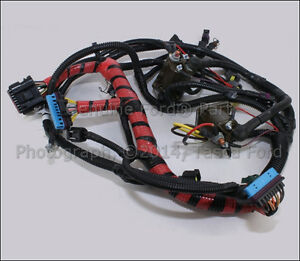 new oem main engine wiring harness ford excursion f250 f350 f450 image is loading new oem main engine wiring harness ford excursion