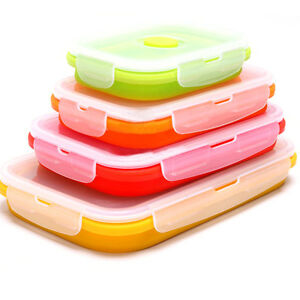 1Pc-Silicone-Collapsible-Food-Fruits-Fresh-Container-Folding-Lunch-Box-4-Sizes