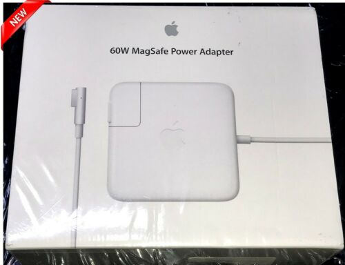 New Apple 60W MagSafe L-Tip Power Adapter for MacBook /& 13-inch MacBook Pro PCs