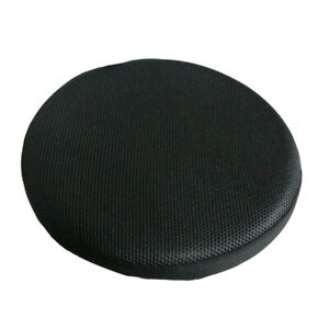 12 30cm Bla Stretch Round Bar Stool Cover Chair Cushion