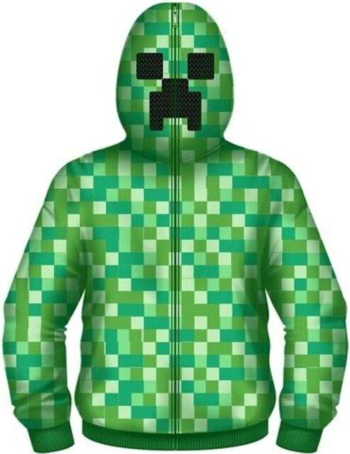 Minecraft Boys Creeper Hoodie