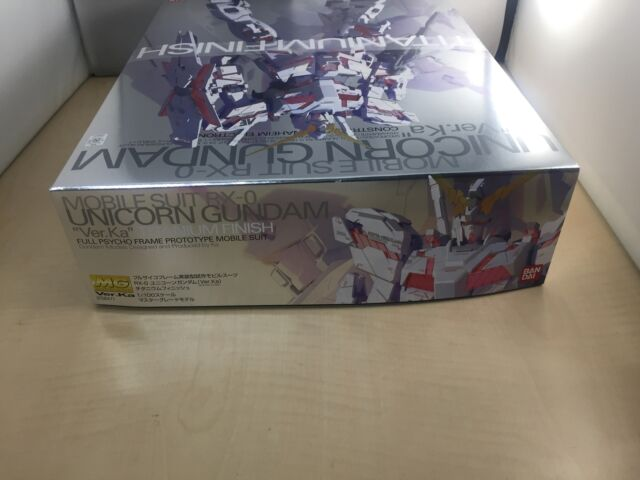 Gundam UC Plastic Model Bandai BAN158471 MG 1//100 Rx-0 Unicorn Titanium Finish for sale online