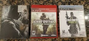 LOT: CALL OF DUTY 4 MODERN WARFARE 1, 3, Black Ops 2 COMPLETE PS3 PLAYSTATION 3