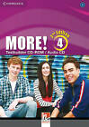 More! Level 4 Testbuilder CD-ROM/Audio CD by Hannah Cassidy (CD-Extra, 2014)