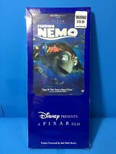 FINDING NEMO PIXAR DISNEY DVD - NEW SEALED COSTCO LONG BOX RARE OD47