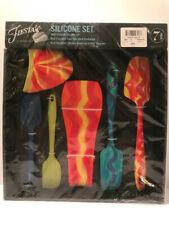 Oneida 7903 7 Piece Silicone Kitchen Utensil Tool Crock Set For Sale Online Ebay