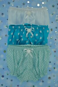 PnW-Dolls-Clothes-For-14-034-Luvabella-Newborn-amp-14-034-Cabbage-Patch-3x-KNICKERS