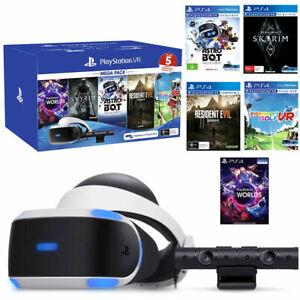 Sony-PLAYSTATION-VR-MEGA-PACK-V2-CUHZVR2-PS-CAMERA-5-Giochi-Bundle-Nuovo
