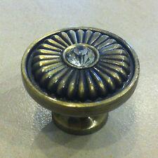 Vintage Möbelknopf Antique Bronze Möbelknöpfe Runde Schranktür Schublade
