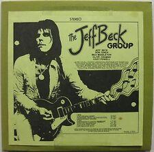 JEFF BECK GROUP European Tour Live Vinyl LP 1972 Paris Theatre TAKRL 1901