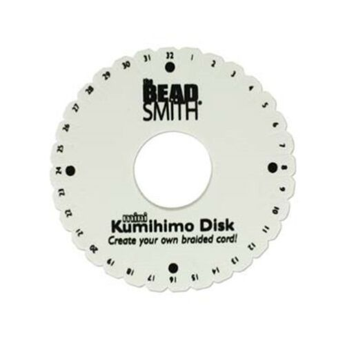 "LOT of 10 Mini KUMIHIMO Round Disks PLATE for BRAIDING 4-1//4/"" inch ~ Bulk"