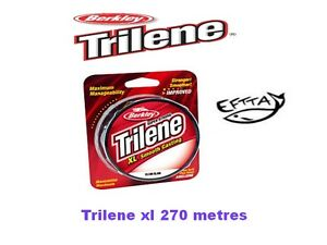 Nylon-Berkley-Trilene-XL-Smooth-270m-lt-lt-PROMO-gt-gt