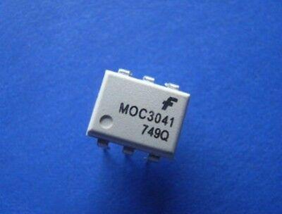 5 PCS  MOC3041M MOC3041 Zero-Cross Optoisolators Triac Driver DIP-6 FSC New