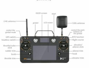 Hubsan X 4 H 109 Sは、プロのトランスミッタH 7000