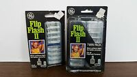 Ge Flip Flash Ii Twin + Single Pack - In Factory Packaging 24 Flashes
