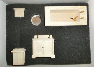 Scaletta In Legno Per Bagno : Bagno completo kit legno per colorare scala ebay
