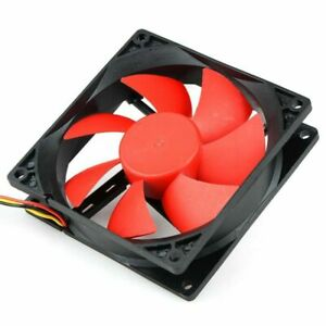 PC-Case-Cooling-Fan-80-90-120mm-DC-12V-3-4-Pin-USB-CPU-Computer-Cooler-Fans-US