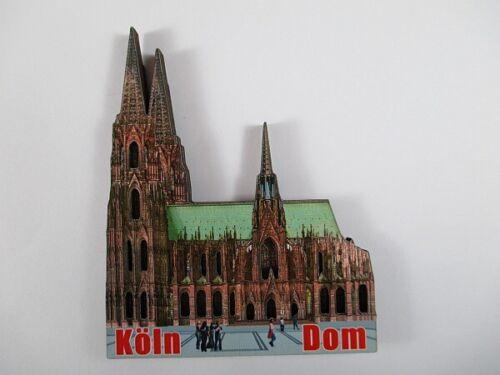 Köln Dom Cologne Holz Souvenir Magnet,Germany Deutschland,Neu