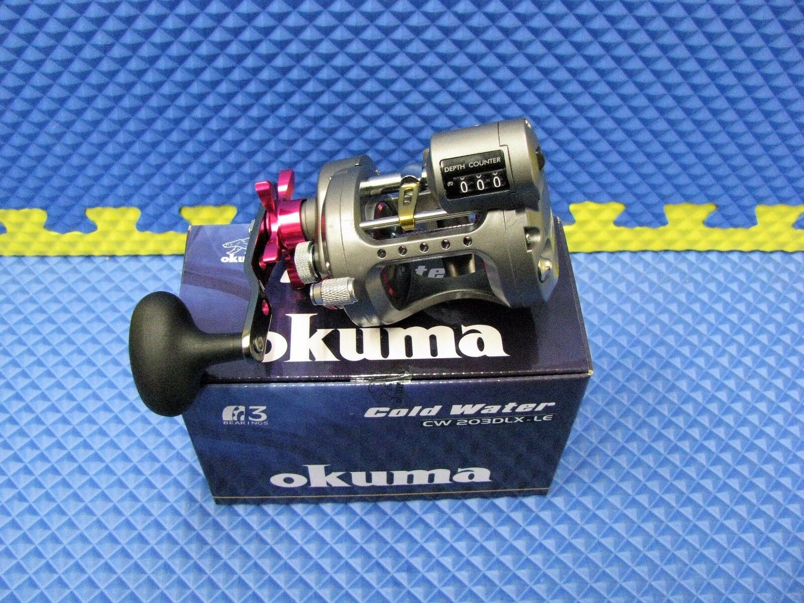 Okuma Cold Water Trolling Line Counter Reel Ladies Ed.  (Left Hand) CW-203DLX-LE  70% off