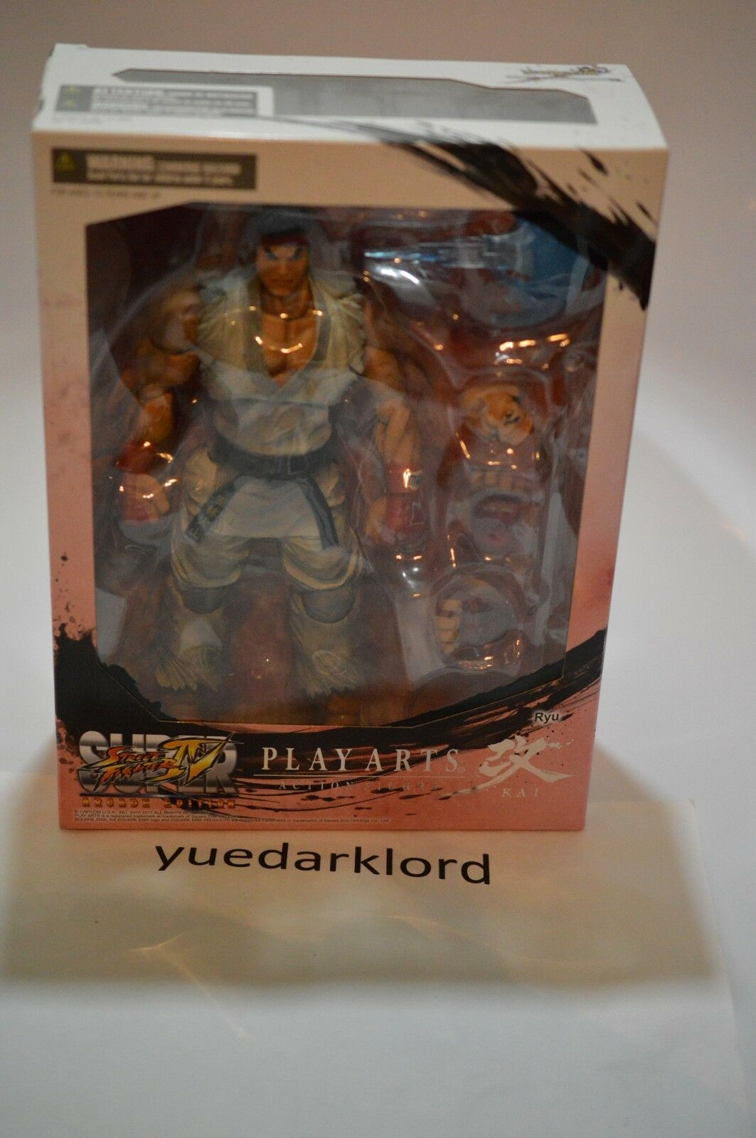 Jugar Arts Kai Street Fighter 4 Figura De Ryu  nuevo  blancoo Versión