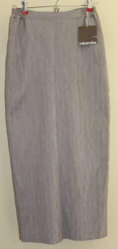 grijze Silk rechte natuurlijke rok Fijn geweven Eskandarsz lange 0 Nwt linnen Wool zVpSUM