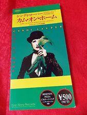 "CYNDI LAUPER Come on Home / Japanese 3"" mini CD single JAPAN / UK DESPATCH"