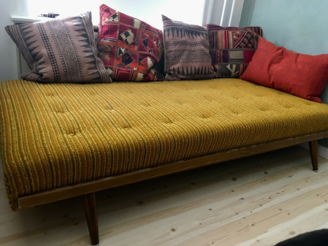 Daybed, andet materiale, 1 pers. , Retro, Unik retro daybed…